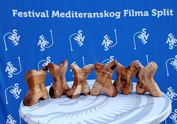 Pobjednici 13. FMFS-a: Natko Stipaničev, Višnja Skorin i Rino Barbir